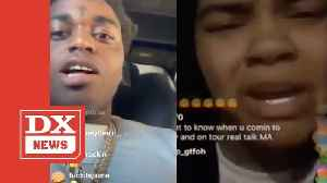 Kodak Black Responds To Young M.A Not Wanting Him To Penetrate Her [Video]