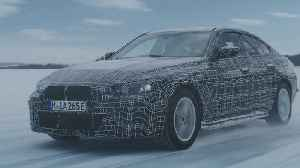 The BMW i4 undergoes winter trial tests [Video]