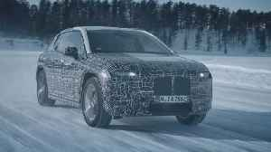 The BMW iNext undergoes winter trial tests [Video]