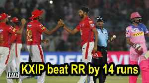 IPL 2019 | Match 4 | KXIP beat RR by 14 runs [Video]