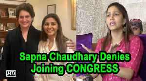 Sapna Chaudhary Denies Joining CONGRESS [Video]