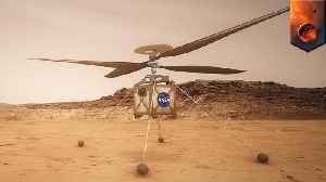 NASA to send mini helicopter on Mars 2020 mission [Video]