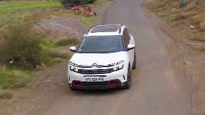 Citroen C5 Aircross SUV in Pearl white Driving Video [Video]