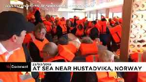 More video emerges of chaos on board Norway ship [Video]