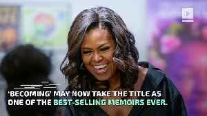 Michelle Obama's 'Becoming' on Track to Be One of the Best-Selling Memoirs Ever [Video]