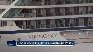 Oconomowoc couple stranded at sea on cruise ship [Video]