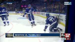 Tampa Bay Lightning rally past Boston Bruins for 59th victory; all-time win record in sight [Video]