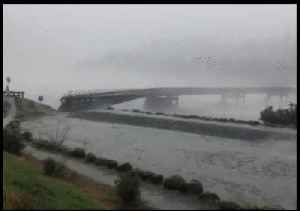 Surging Floodwaters Bring Down Bridge in New Zealand's South Island [Video]
