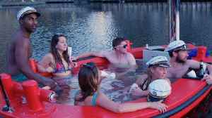 Let's Jacuzzi Up! Incredible Hot Tub Boats Allow You To Float Through Capital's Waterways [Video]