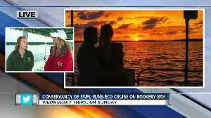 Conservancy of Southwest Florida runs eco-cruises out of Rookery Bay - 7am live report [Video]