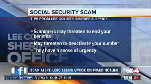Scam Alert: LCSO seeing uptick in Social Security Scam [Video]