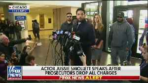 Jussie Smollett's Statement To The Press [Video]