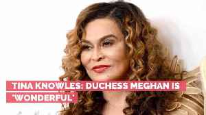 Beyonce's Mom Praises Duchess Meghan [Video]