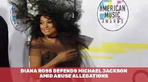 Diana Ross Comes To Michael Jackson's Defense [Video]