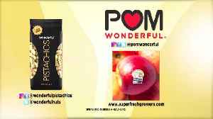 National Nutrition Month with Autumn Glory Apples, Wonderful Pistachios and POM Wonderful [Video]