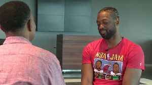 WEB EXTRA: Dwyane Wade Discusses His 'One Last Dance' Tour With CBS4 Sports Anchor Jim Berry [Video]