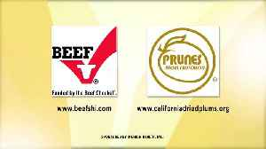 National Nutrition Month with Beef Checkoff and California Prunes [Video]