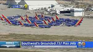 Fleet Of Southwest Jets Grounded In Victorville [Video]