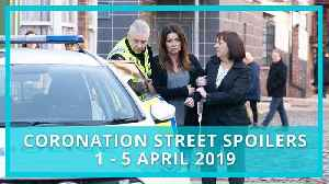 Coronation Street (Corrie) spoilers: 1 - 5 April 2019 [Video]