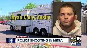 Suspect in custody after shooting involving Mesa officers [Video]