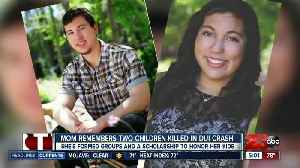 News video: Mom remembers two children killed in DUI crash one year later