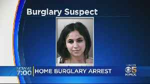18-Year-Old Suspect Jailed In Daytime Morgan Hill Burglary [Video]