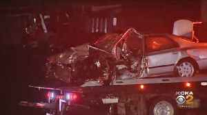 4 People Injured In Crash On East Pittsburgh McKeesport Boulevard [Video]