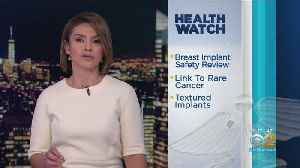 Breast Implants Linked To Cancer [Video]