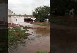 Floods Inundate Australia's Pilbara Region After Cyclone Veronica [Video]