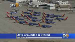 Southwest Moves 737 MAX Planes To Victorville [Video]