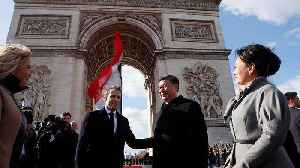 Xi arrives in Paris as Macron pushes for united EU front [Video]