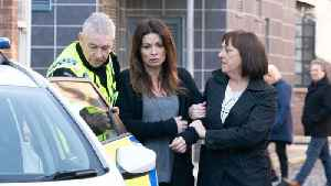 Corrie Soap Scoop! Carla is arrested [Video]