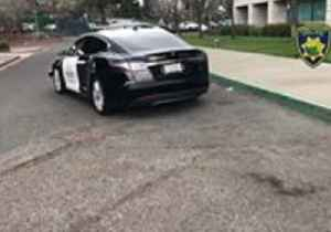 Fremont Police Department Deploys First Tesla Patrol Car [Video]