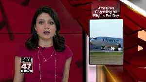 American Airlines canceling 90 flights a day due to 737 Max grounding [Video]