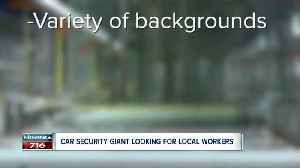Local wheel lock giant is searching for manufacturing workers [Video]