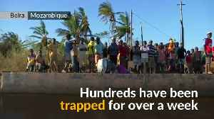 Scores rescued and aid delivered to Mozambique cyclone survivors [Video]