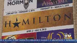 Excitement As Hamilton Comes To The Dallas Music Hall [Video]