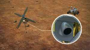 NASA to send autonomous mini helicopter on Mars 2020 mission [Video]