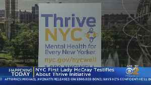 City's First Lady Called Before Council To Explain Thrive NYC Initiative [Video]