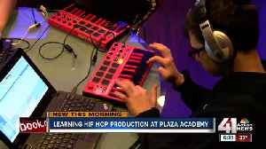Plaza Academy receives new studio for hip hop production class [Video]