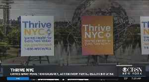 Mental Health Expert Talks On Thrive NYC [Video]