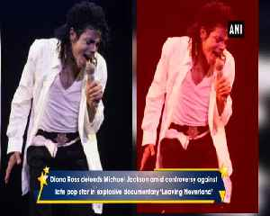 News video: Diana Ross defends Michael Jackson amid controversy