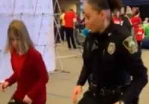Police Officer Teaches New York Kids to Dance for Healthy Heart Campaign [Video]