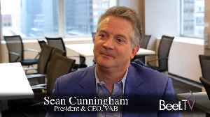 VAB Projects $2.1 Billion In 2019 Addressable TV Spend: 'It's Mature' Says CEO Cunningham [Video]