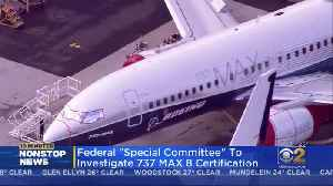 Transportation Department To Create Expert Panel To Review 737 Max Certification [Video]