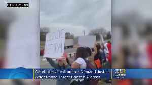 Students Demand Justice After Racist Threats Cancel Classes [Video]