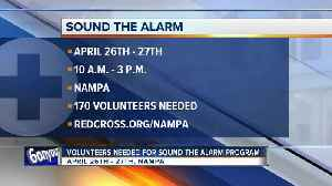 American Red Cross of Greater Idaho searching for volunteers for Sound the Alarm event next month [Video]