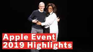5 Highlights From 2019 Apple Event [Video]