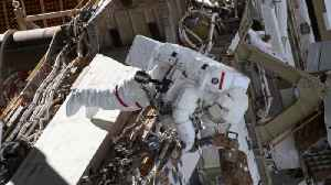 News video: NASA Scraps First All-Female Spacewalk Over Spacesuit Issue