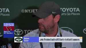 Head coach Adam Gase addresses New York Jets' preparations for a successful offseason [Video]